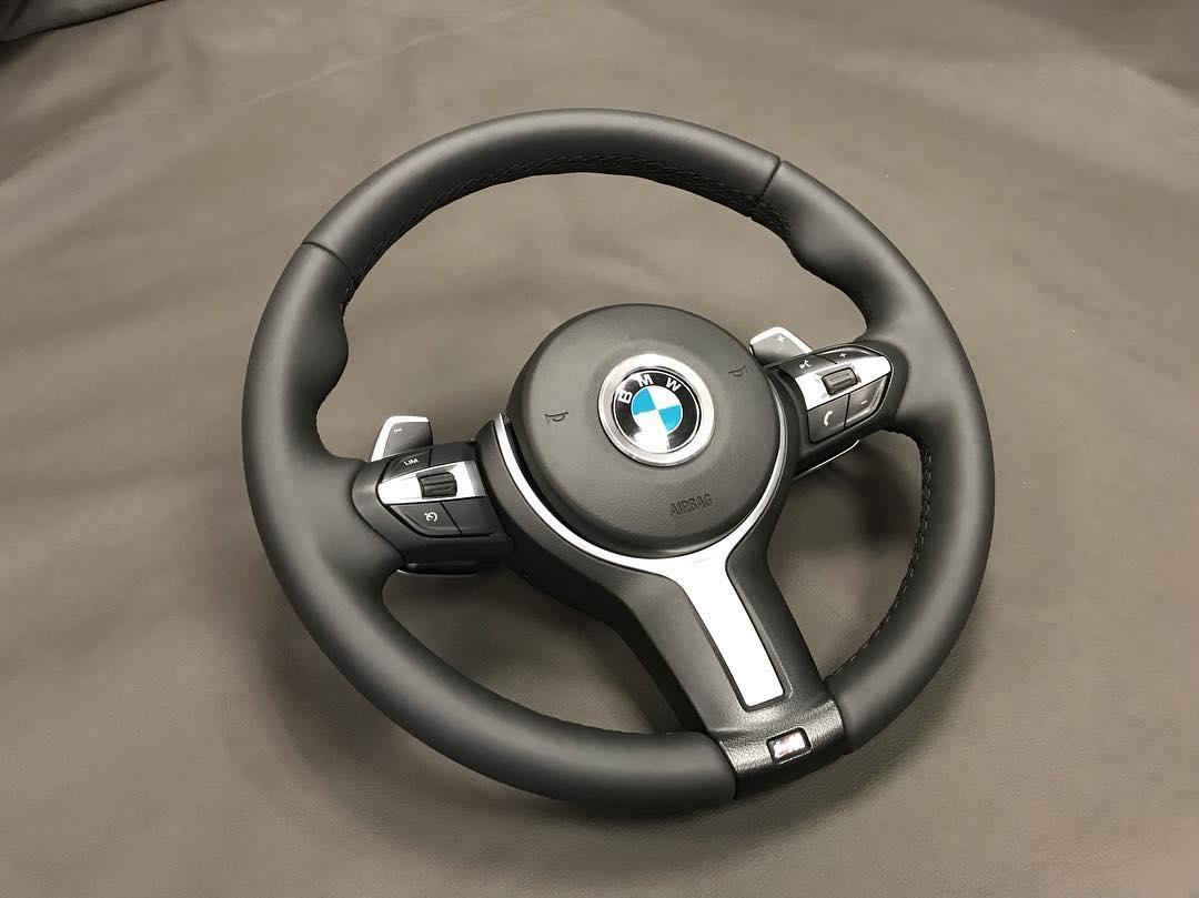 Перетяжка руля BMW X5M F15