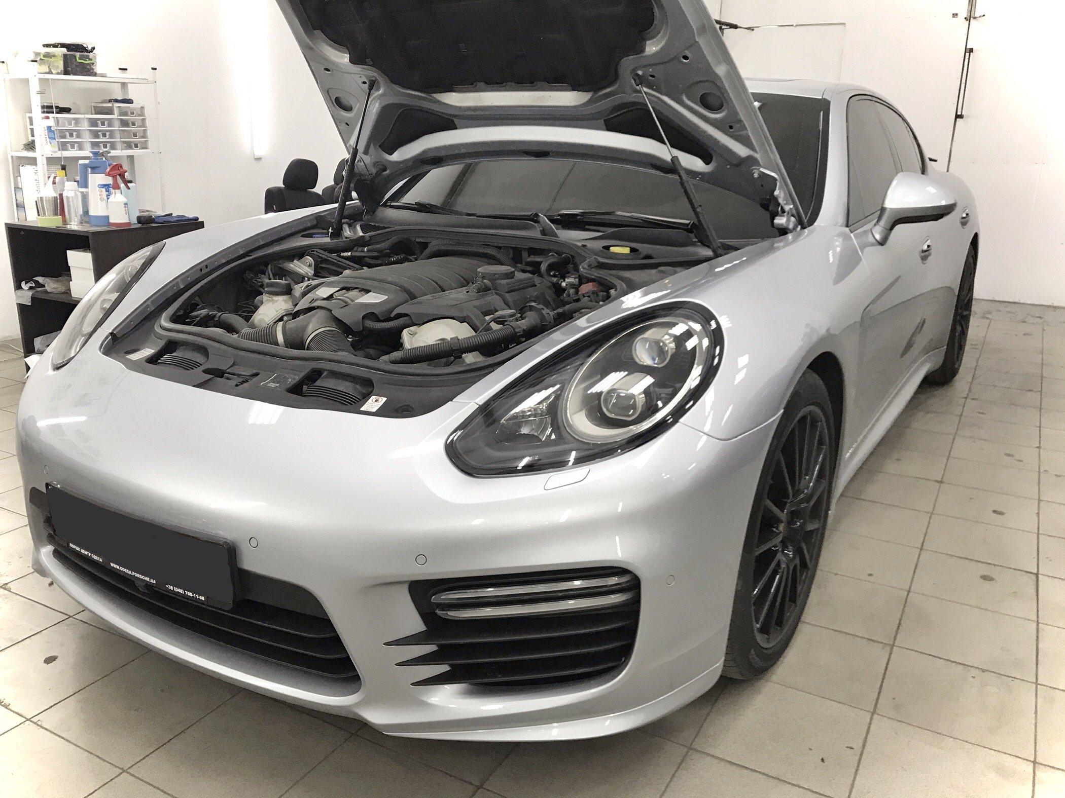 Антигравийная Защита Porsche Panamera