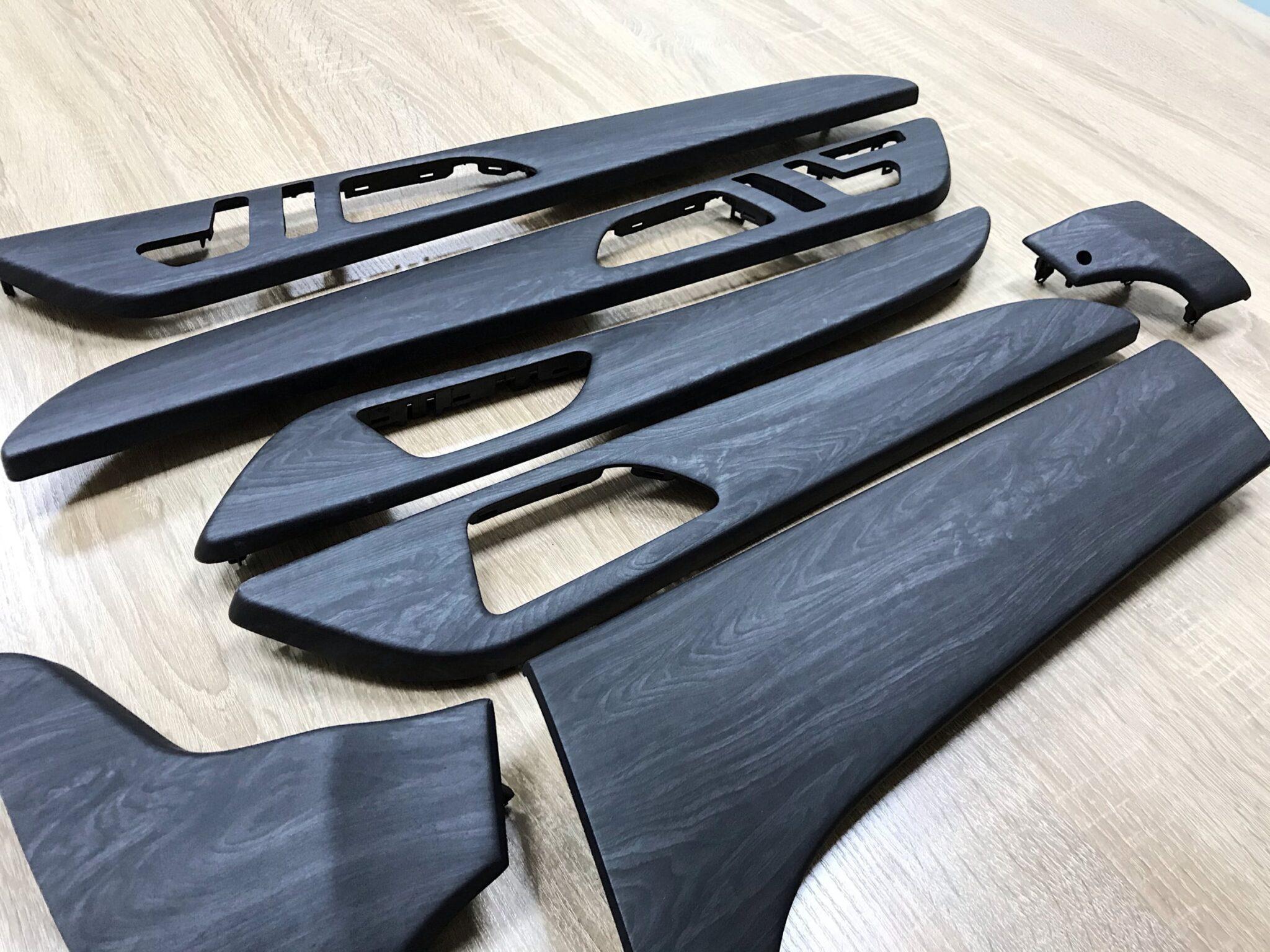 Аквапринт салонного пластика Mercedes-Benz GLE Coupe