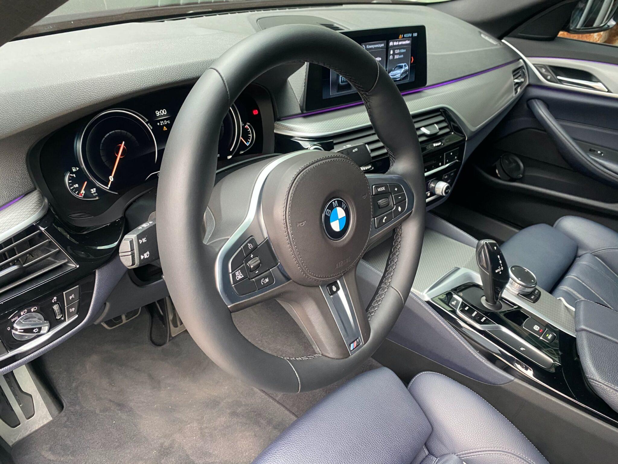 Перетяжка руля с подогревом BMW G30