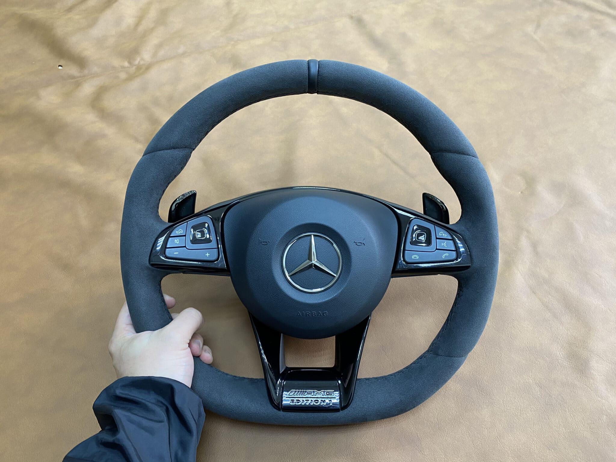 Перетяжка руля Mercedes-Benz E63s